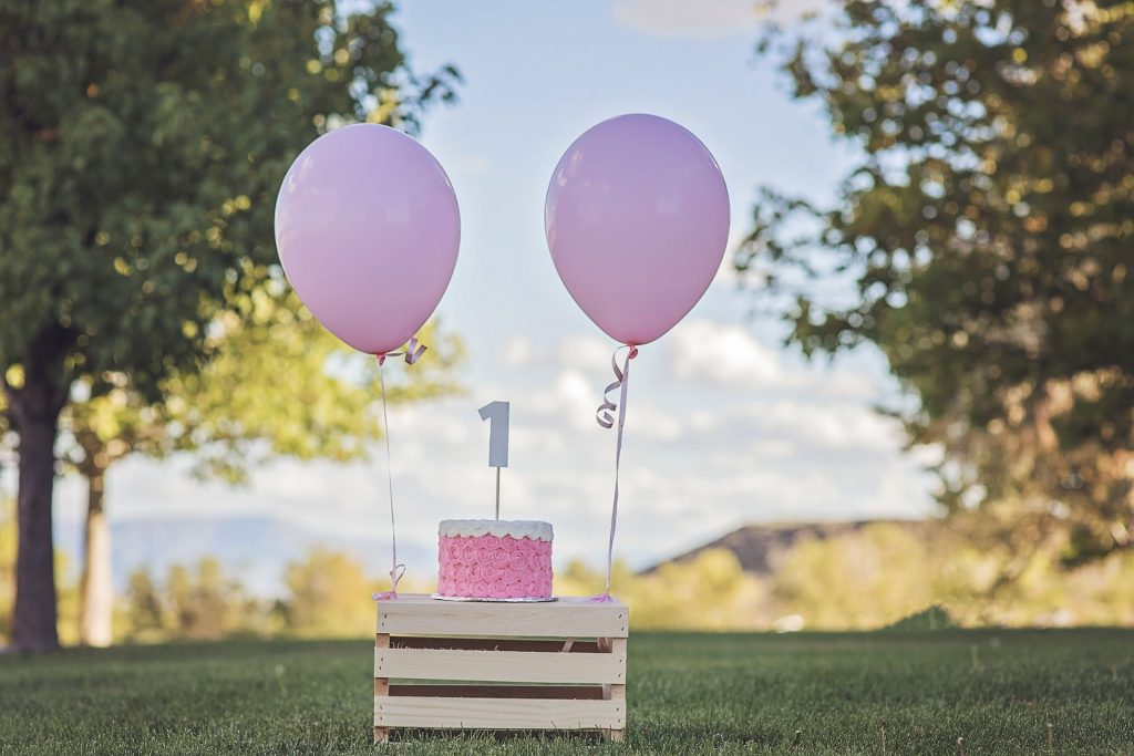 invito primo compleanno