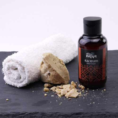 Sacrum- olio corpo incenso