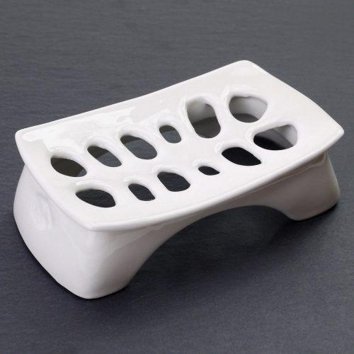 portasapone in ceramica - pezzo unico - realizzato a mano