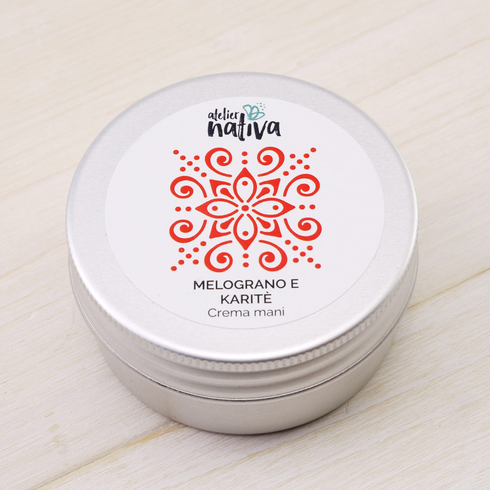 Pomegranate and Shea Butter Hand Cream