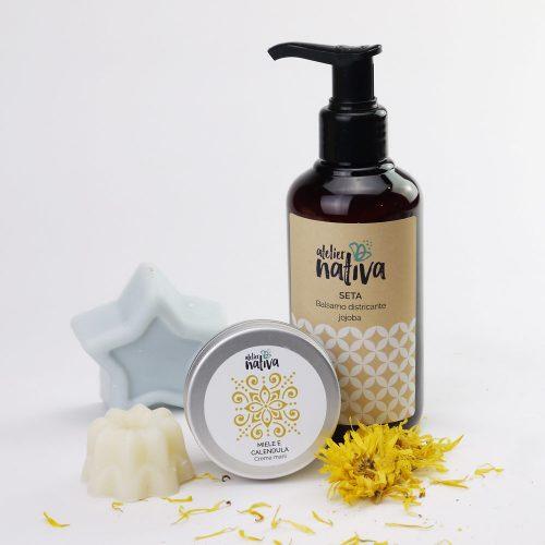 idee regalo saponetta, shampoo solido, crema mani, balsamo capelli