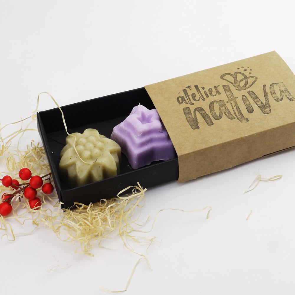 Confezione regalo – saponi natalizi